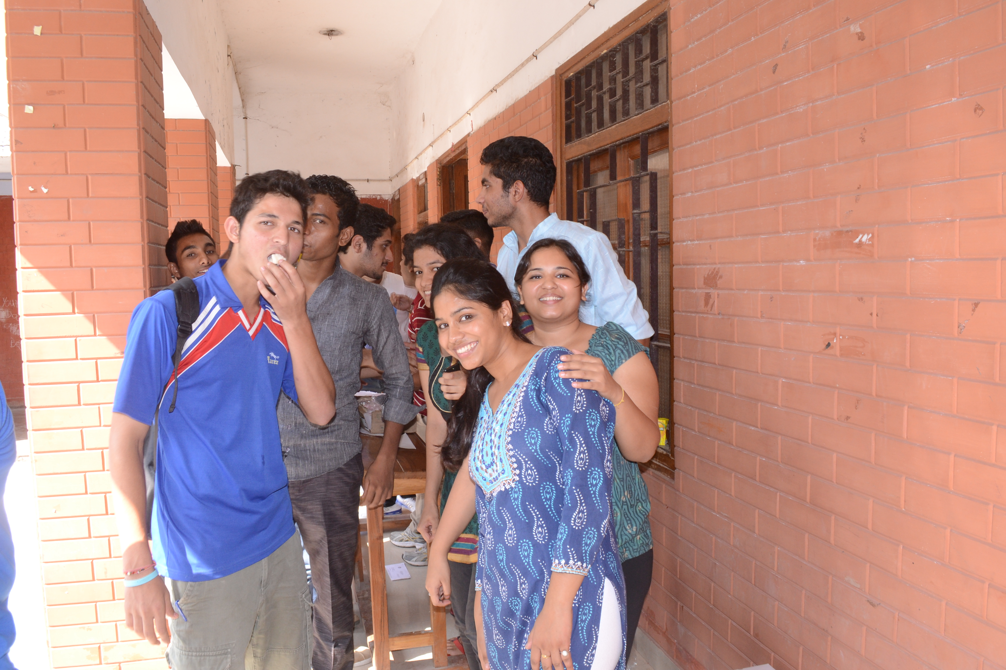 Delhi North Campus Students during the World Ozone Day Celebrations!