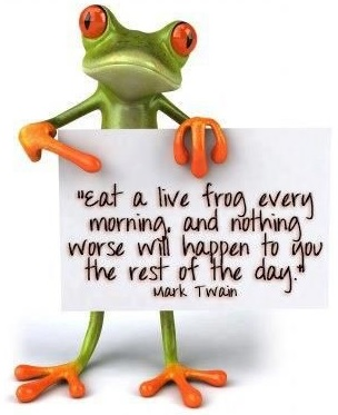 Eat the Frog: Be productive