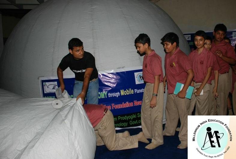 Mobile Planetarium Project: Taramandal