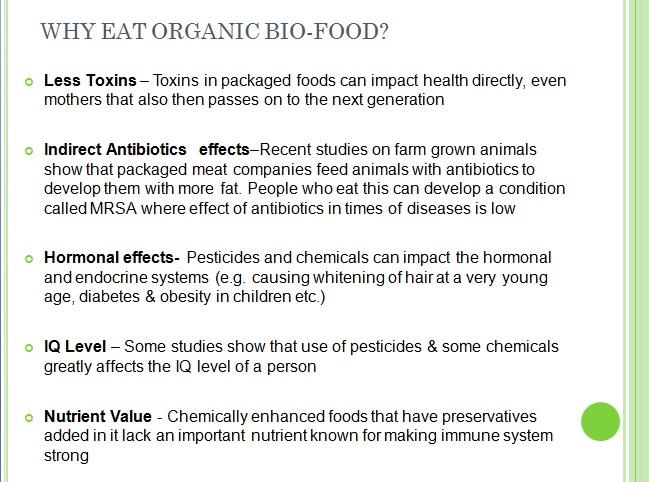 Weekend tips: Why eat organic/ bio food? - Millennium ...