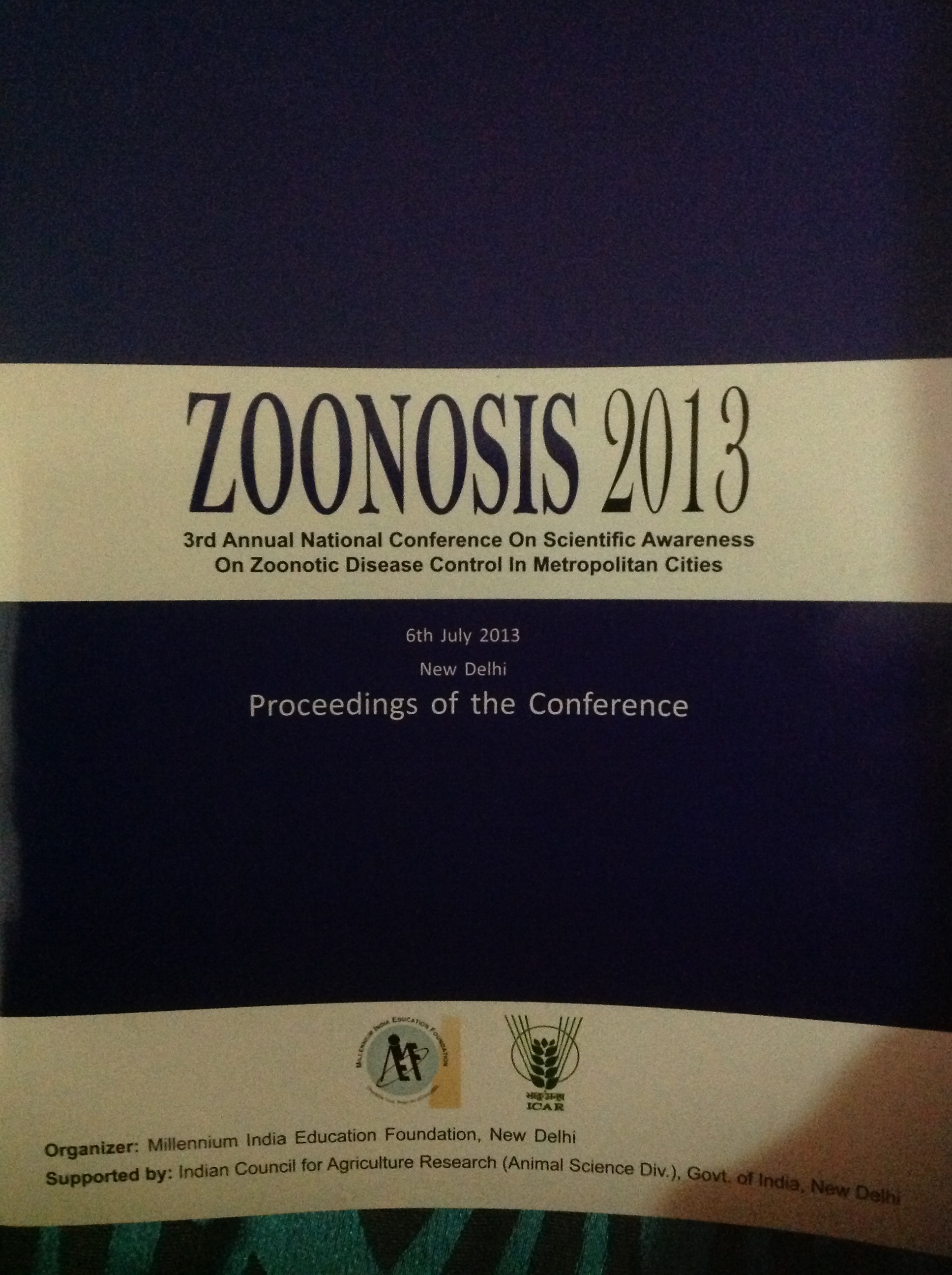 National Conference on Scientific Awareness on Zoonotic Disease control