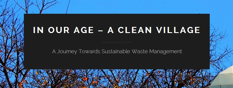 Sustainable waste management in Indian village