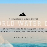 Celebrating World Water Day With Prakriti Kumbh 2016